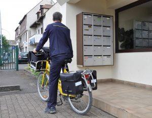 utilité pass ptt article facteur à vélo